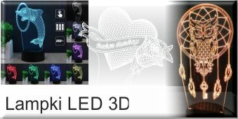Lamki LED 3D